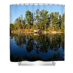 Awesub Morning 2 Shower Curtain by Larry Ricker