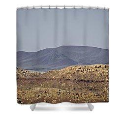 Az Landscape - Near Grand Canyon Shower Curtain by David Gordon