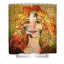 B. The Poem Shower Curtain by Barbara Orenya