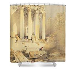 Baalbec Shower Curtain by David Roberts