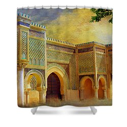 Bab Mansur Shower Curtain by Catf