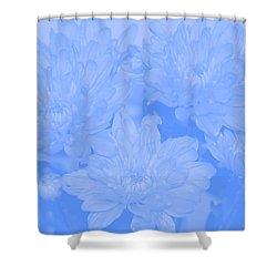 Baby Blue 2 Shower Curtain by Carol Lynch