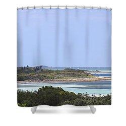 Bahia Honda Shower Curtain by Rudy Umans