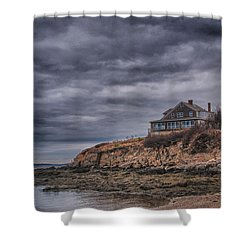 Bailey's Island 14342c Shower Curtain by Guy Whiteley