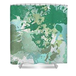 Balance Shower Curtain by Lourry Legarde