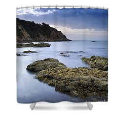 Balcombe Point Mount Martha Shower Curtain by Tim Hester