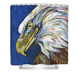 Bald Eagle Shower Curtain by Lovejoy Creations