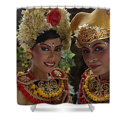 Bali Beauties Shower Curtain by Bob Christopher
