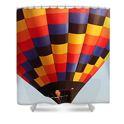 Balloon-color-7277 Shower Curtain by Gary Gingrich Galleries