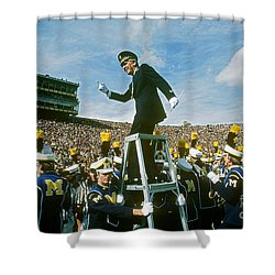 Band Director Shower Curtain by James L. Amos