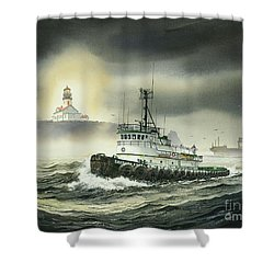 Barbara Foss Shower Curtain by James Williamson