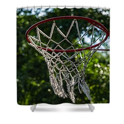Basket - Featured 3 Shower Curtain by Alexander Senin