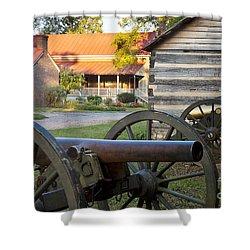 Battle Of Franklin Shower Curtain by Brian Jannsen