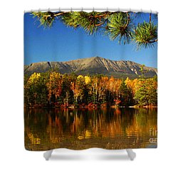 Baxter Fall Reflections  Shower Curtain by Alana Ranney