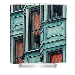 Bay Watch Shower Curtain by Ira Shander