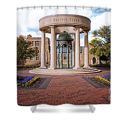 Bayless Plaza  Shower Curtain by Tamyra Ayles
