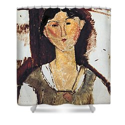 Beatrice Hastings Shower Curtain by Amedeo Modigliani