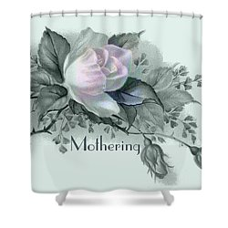 Beautiful Flowers For Mother's Day Shower Curtain by Sarah Vernon