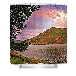 Beautiful Sunrise Shower Curtain by Robert Bales