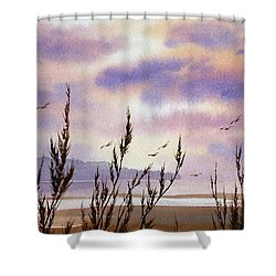 Beautiful World Shower Curtain by James Williamson