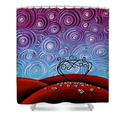 Because You're Mine Shower Curtain by Cindy Thornton