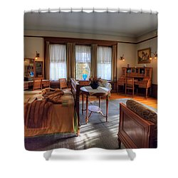 Bedroom Glensheen Mansion Duluth Shower Curtain by Amanda Stadther