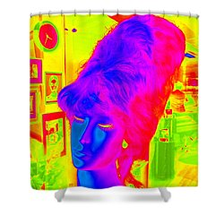 Beehive Beauty Shower Curtain by Ed Weidman