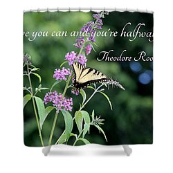 Believe - Featured In Featured Art- Comfortable Art And Beauty Captured Groups Shower Curtain by EricaMaxine  Price