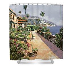 Bella Amalfi Shower Curtain by Guido Borelli