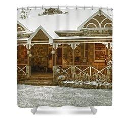 Bella Vista Shower Curtain by Elaine Teague