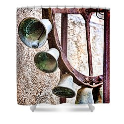 Bells In Sicily Shower Curtain by David Smith