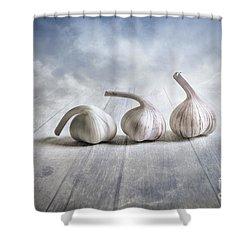 Bending Shower Curtain by Veikko Suikkanen