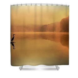 Beside Still Waters Shower Curtain by Rob Blair