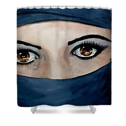 Beyond The Veil Shower Curtain by Michal Madison