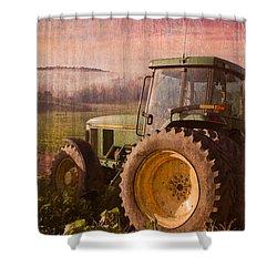 Big John Shower Curtain by Debra and Dave Vanderlaan