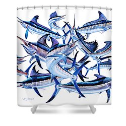 Bills Off0044 Shower Curtain by Carey Chen