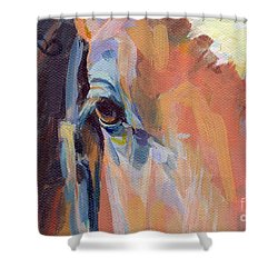 Billy Shower Curtain by Kimberly Santini