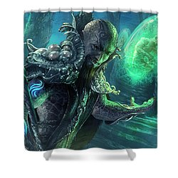 Biovisionary Shower Curtain by Ryan Barger