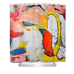 Birds In Paradise Shower Curtain by Ana Maria Edulescu