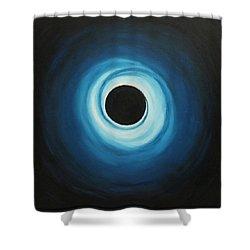 Black Hole Shower Curtain by Sven Fischer