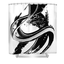 Black Magic 313 By Sharon Cummings Shower Curtain by Sharon Cummings
