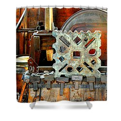 Blacksmith Blues Shower Curtain by Lauren Leigh Hunter Fine Art Photography