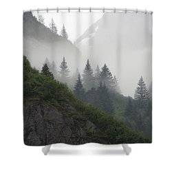 Blanket Of Fog Shower Curtain by Jennifer Wheatley Wolf