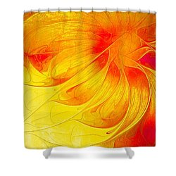 Blooming Spring Shower Curtain by Amanda Moore