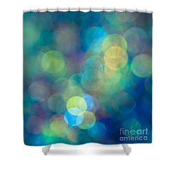 Blue Of The Night Shower Curtain by Jan Bickerton