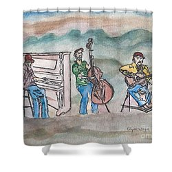 Blue Ridge Tradition   Shower Curtain by Elizabeth Briggs