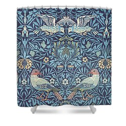 Blue Tapestry Shower Curtain by William Morris