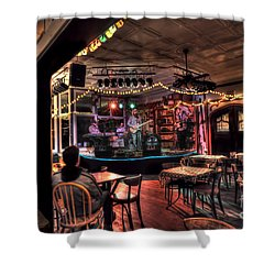 Bluegrass Band In Wv Shower Curtain by Dan Friend
