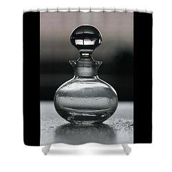 Bottle Shower Curtain by Joy Watson