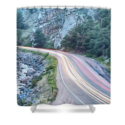 Boulder Canyon Drive And Commute Shower Curtain by James BO  Insogna